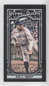2013 Topps Gypsy Queen - [Base] - Mini Black #50 - Babe Ruth /199