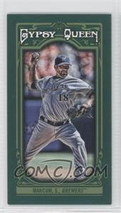 2013 Topps Gypsy Queen - [Base] - Mini Green #139 - Shaun Marcum /99