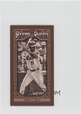 2013 Topps Gypsy Queen - [Base] - Mini Sepia-Tone #118 - Ruben Tejada /50