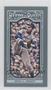 2013 Topps Gypsy Queen - [Base] - Mini #137.1 - Sandy Koufax