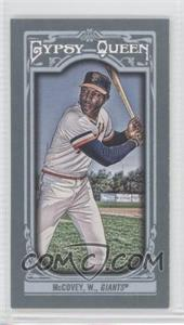 2013 Topps Gypsy Queen - [Base] - Mini #167.2 - Willie McCovey