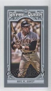 2013 Topps Gypsy Queen - [Base] - Mini #340.2 - Willie Mays