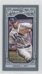 2013 Topps Gypsy Queen - [Base] - Mini #44.2 - Evan Longoria (fielding, grey jersey)