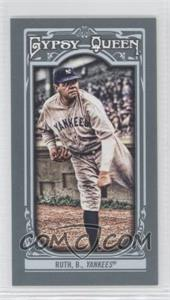 2013 Topps Gypsy Queen - [Base] - Mini #50.1 - Babe Ruth