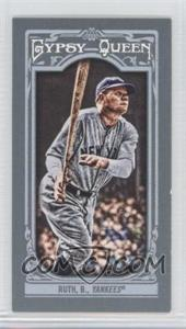 2013 Topps Gypsy Queen - [Base] - Mini #50.2 - Babe Ruth