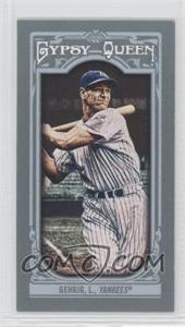 2013 Topps Gypsy Queen - [Base] - Mini #83.2 - Lou Gehrig