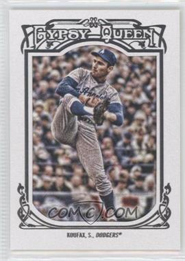 2013 Topps Gypsy Queen - [Base] - White Framed #137 - Sandy Koufax
