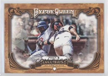 2013 Topps Gypsy Queen - Collisions at the Plate #CP-BP - Buster Posey