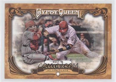 2013 Topps Gypsy Queen - Collisions at the Plate #CP-CR - Carlos Ruiz