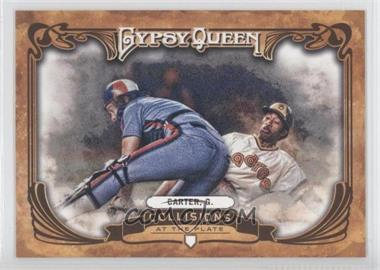 2013 Topps Gypsy Queen - Collisions at the Plate #CP-GC - Gary Carter