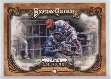 2013 Topps Gypsy Queen - Collisions at the Plate #CP-SP - Salvador Perez
