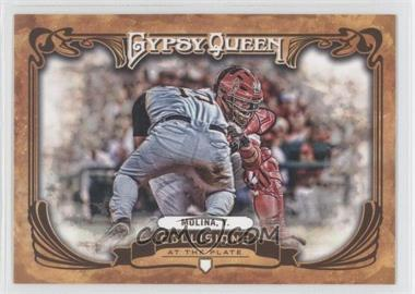 2013 Topps Gypsy Queen - Collisions at the Plate #CP-YM - Yadier Molina