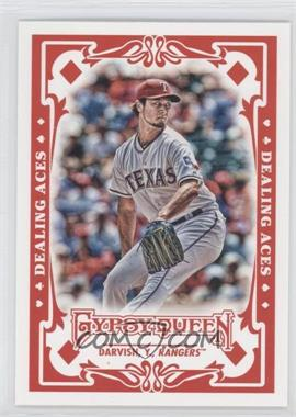 2013 Topps Gypsy Queen - Dealing Aces #DA-YD - Yu Darvish