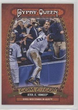 2013 Topps Gypsy Queen - Glove Stories #GS-DJ - Derek Jeter