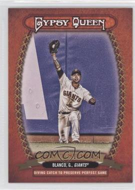 2013 Topps Gypsy Queen - Glove Stories #GS-GB - Gregor Blanco