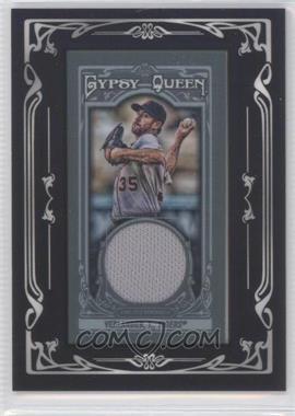 2013 Topps Gypsy Queen - Mini Relic #GQMR-JV - Justin Verlander