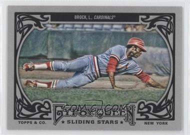 2013 Topps Gypsy Queen - Sliding Stars #SS-LB - Lou Brock