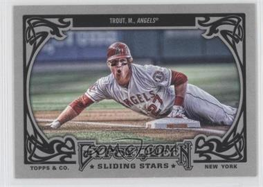 2013 Topps Gypsy Queen - Sliding Stars #SS-MT - Mike Trout