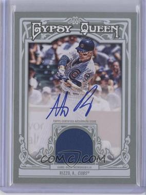2013 Topps Gypsy Queen Autographed Relics [Autographed] #AR-AR - Anthony Rizzo /25