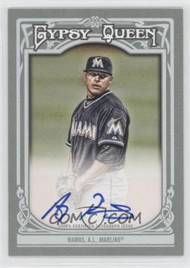 2013 Topps Gypsy Queen Autographs [Autographed] #GQA-ARA - A.J. Ramos