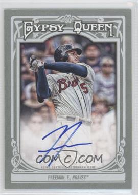 2013 Topps Gypsy Queen Autographs [Autographed] #GQA-FF - Freddie Freeman