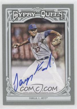 2013 Topps Gypsy Queen Autographs [Autographed] #GQA-JF - Jeurys Familia