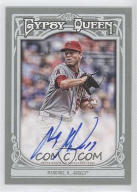 2013 Topps Gypsy Queen Autographs [Autographed] #GQA-NM - Nick Maronde