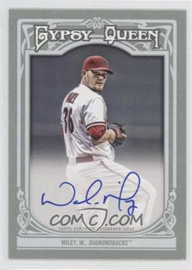 2013 Topps Gypsy Queen Autographs [Autographed] #GQA-WM - Wade Miley