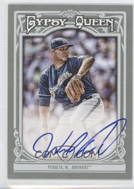 2013 Topps Gypsy Queen Autographs [Autographed] #GQA-WP - Wily Peralta