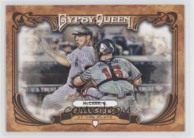 2013 Topps Gypsy Queen Collisions at the Plate #CP-BM - Brian McCann