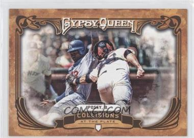 2013 Topps Gypsy Queen Collisions at the Plate #CP-BP - Buster Posey