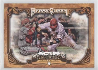 2013 Topps Gypsy Queen Collisions at the Plate #CP-CR - Carlos Ruiz
