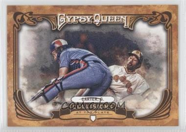 2013 Topps Gypsy Queen Collisions at the Plate #CP-GC - Gary Carter