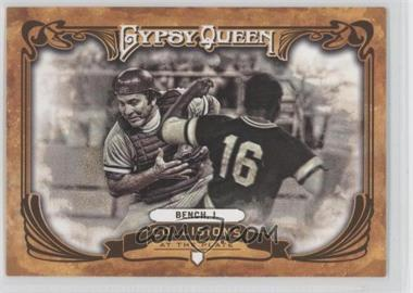 2013 Topps Gypsy Queen Collisions at the Plate #CP-JB - Johnny Bench