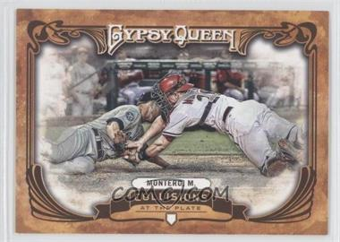 2013 Topps Gypsy Queen Collisions at the Plate #CP-MM - Miguel Montero