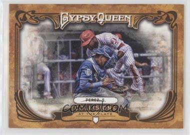 2013 Topps Gypsy Queen Collisions at the Plate #CP-SP - Salvador Perez