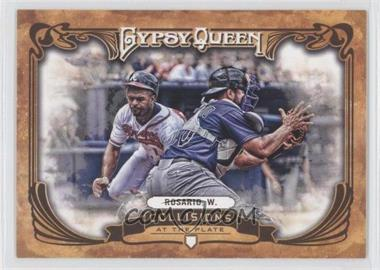 2013 Topps Gypsy Queen Collisions at the Plate #CP-WR - Wilin Rosario