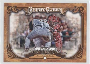 2013 Topps Gypsy Queen Collisions at the Plate #CP-YM - Yadier Molina