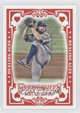 2013 Topps Gypsy Queen Dealing Aces #DA-RD - R.A. Dickey