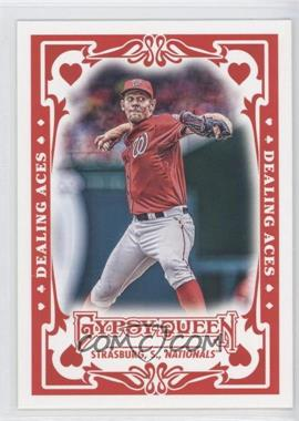 2013 Topps Gypsy Queen Dealing Aces #DA-SS - Stephen Strasburg