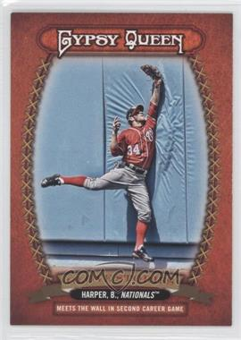 2013 Topps Gypsy Queen Glove Stories #GS-BH - Bryce Harper