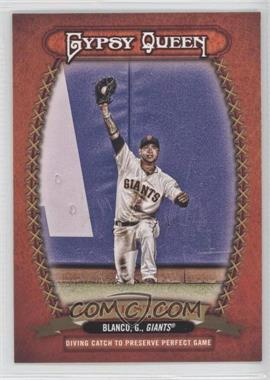 2013 Topps Gypsy Queen Glove Stories #GS-GB - Gregor Blanco