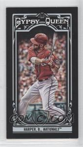 2013 Topps Gypsy Queen Mini Black #100 - Bryce Harper /199
