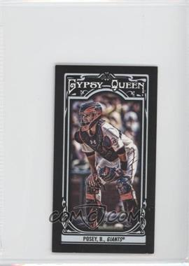2013 Topps Gypsy Queen Mini Black #110 - Buster Posey /199