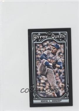2013 Topps Gypsy Queen Mini Black #137 - Sandy Koufax /199