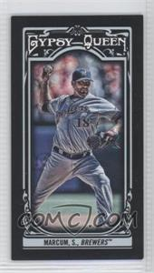 2013 Topps Gypsy Queen Mini Black #139 - Shaun Marcum /199