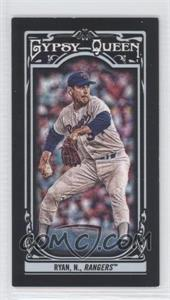 2013 Topps Gypsy Queen Mini Black #19 - Nolan Ryan /199