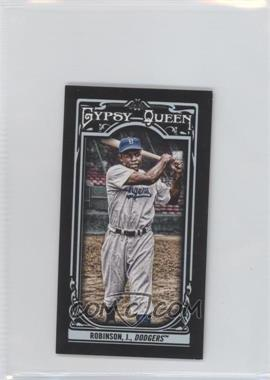 2013 Topps Gypsy Queen Mini Black #260 - Jackie Robinson /199