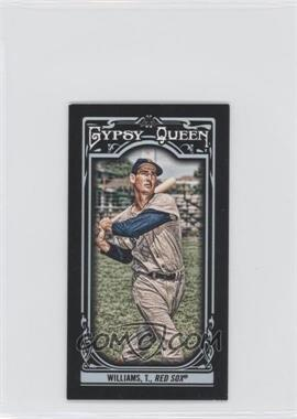 2013 Topps Gypsy Queen Mini Black #330 - Ted Williams /199