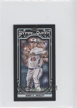 2013 Topps Gypsy Queen Mini Black #41 - Dylan Bundy /199